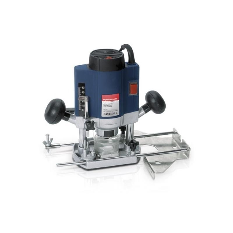 Fresadora rotativa pow160 900w powerplus - Fresadora de madera ...