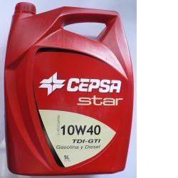 Lubricante Star 10W-40 5 lts CEPSA