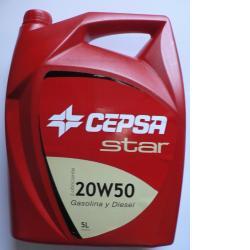Lubricante Star 20W-50 CEPSA