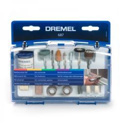 DREMEL Kit restauracion 62 pzas.