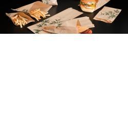 Bolsa de papel ecologico para sandwich