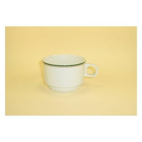 Taza cafe con leche castillo ingles verde for Capacidad taza cafe con leche