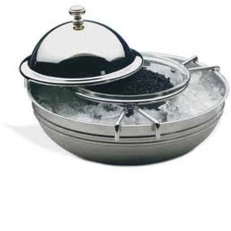 Enfriador de caviar acero inoxidable.APS