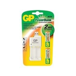 GP cargador baterias usb + 2 baterias 2500mAH