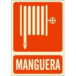 Señal manguera