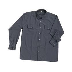 Camisa Trabajo Gris Manga Larga.MACOR