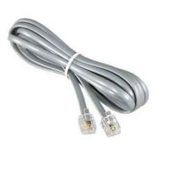 Cable telefono gris 120 cms rj11 6p4c FYH