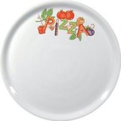 ALA PLATO PIZZA DECORADO 31 SATURNIA