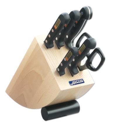 Juego de cuchillos cocina 6 pzas 2856 serie universal arcos - Juego de cuchillos de cocina ...