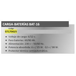 CARGABATERIAS YAMATO  BAT16