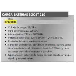 CARGABATERIAS YAMATO BOOST210  CON ARRANCADOR
