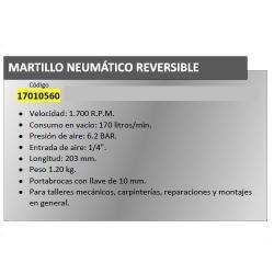 TALADRO NEUMATICO YAMATO REVERSIBLE 10 MM.