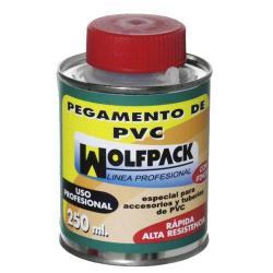 PEGAMENTO PVC  WOLFPACK  CON PINCEL   250CC