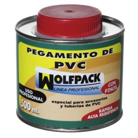 PEGAMENTO PVC  WOLFPACK  CON PINCEL 500CC