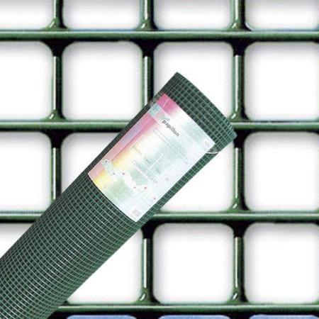 MALLA PLASTIFICADA CORRAL 13X13 / 150 CM.  ROLLO 25 METROS