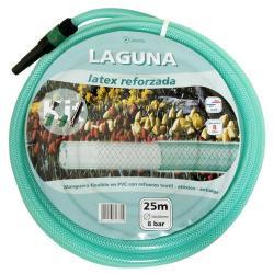 TUBO LATEX PAPILLON REFORZADO15 MM.  ROLLO 25 METROS CON ACCESORIOS