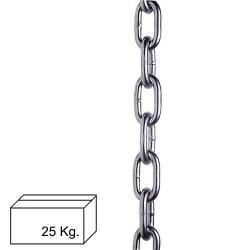 CADENA PULIDA  6 MM  (CAJA 25 KG)