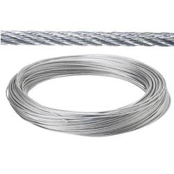 CABLE GALVANIZADO 2 MM.   (ROLLO 25 METROS) NO ELEVACION
