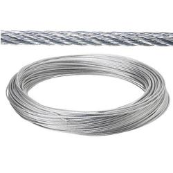 CABLE GALVANIZADO 6 MM.   (ROLLO 25 METROS) NO ELEVACION