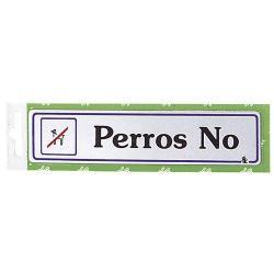 ROTULO PERROS NO
