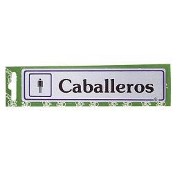 ROTULO CABALLEROS