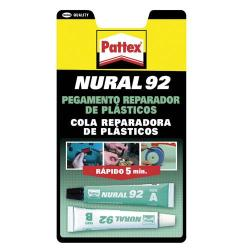 NURAL -  92 TRANSPARENTE  (JUEGO 2 TUBOS 22CC)