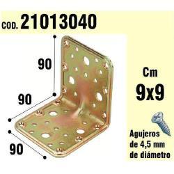 SOPORTE PARA MADERA ÁNGULO 90X 90X 90