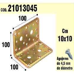 SOPORTE PARA MADERA ÁNGULO 100X100X100