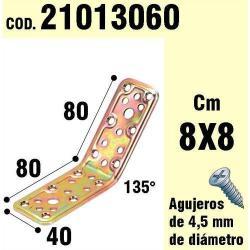 SOPORTE PARA MADERA ÁNGULO 40X 80X 80/135°
