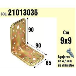 SOPORTE PARA MADERA ÁNGULO 65X 90X 90