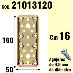 SOPORTE PARA MADERA PLACA BICROMATADA 50X160