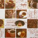 MANTEL HULE ROLLO 140 CM.  X 20 METROS CAFÉ