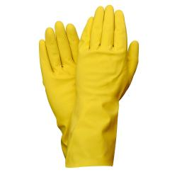 GUANTE WOLFPACK LATEX 100% BASIC DOMESTICO XL  (PAR)