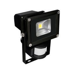 FOCO LED CON SENSOR  10W 4000K   750 LUMENES IP65