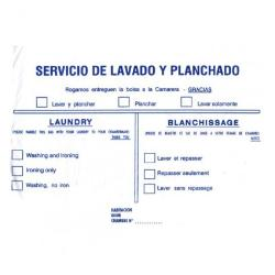BOLSA LAVANDERIA 56X38 FYH 100 UNDS