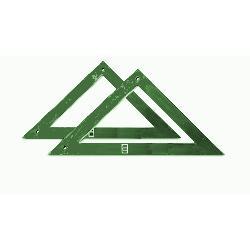 ESCUADRA CONSTRUCCION VERDE 60 CMS FYH