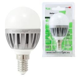 BATTERYLIGHT LAMPARA LED G45 E14 3700K 5W