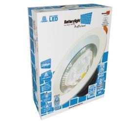 BATTERYLIGHT DOWNLIGHT  230MM  6500K