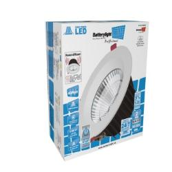 BATTERYLIGHT DOWNLIGHT 40W EXTRAPOWER