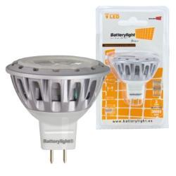 BATTERYLIGHT LED SPOT LIGHT 12V 4W 230LM MR16 WW