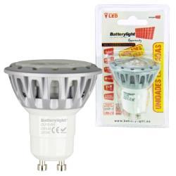 BATTERYLIGHT LED SPOT LIGHT 3W 150LM GU10 CW