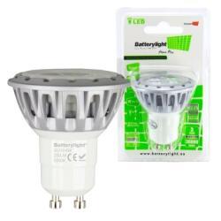 BATTERYLIGHT LED SPOT LIGHT 5W 280LM GU10 WW