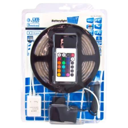 BATTERYLIGHT TIRA LED 15W 1080LM RGB