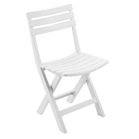 silla plegable plastico precio