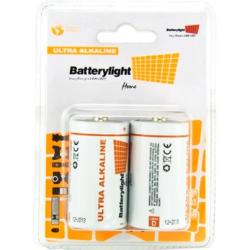 BATTERYLIGHT ULTRA ALKALINE D