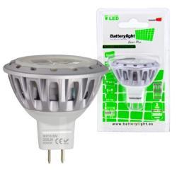BATTERYLIGHT LED SPOT LIGHT 12V 5W 280LM MR16 CW
