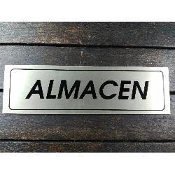 FYH ROTULO ALMACEN 17X5 ALUMINIO ORO