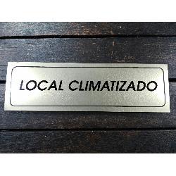 FYH ROTULO LOCAL CLIMATIZADO 17X5 ALUMINIO ORO
