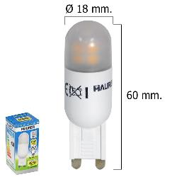 BOMBILLA LED G9 2,5 W.  250 LUMEN LUZ CALIDA