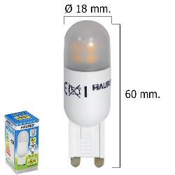 BOMBILLA LED G9 3,5 W.  350 LUMEN LUZ CALIDA